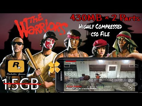 [430MB] The Warriors Psp Cso Game Download For Android  Featured